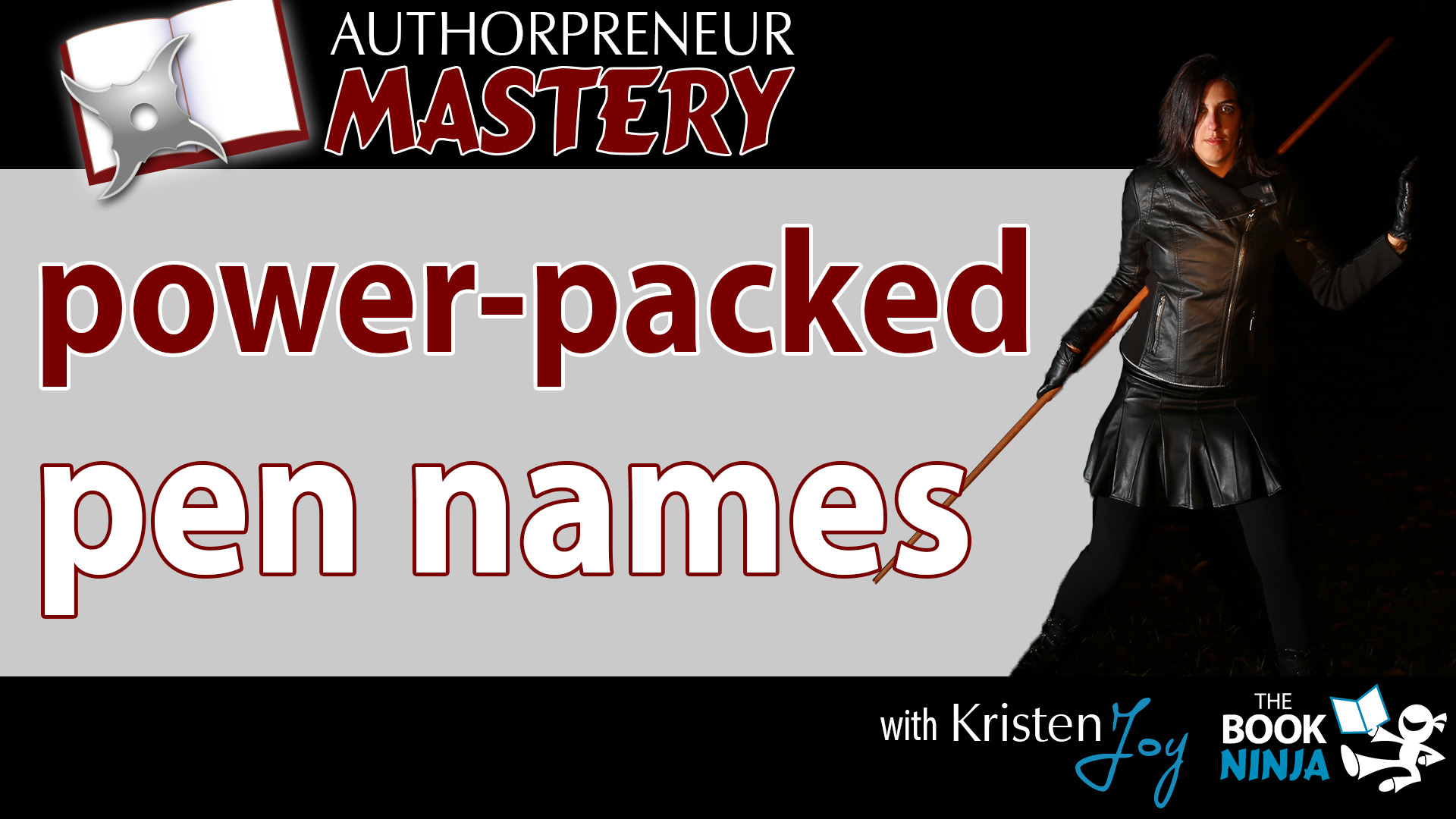 AM-Power-Packed Pen Names - The Book Ninja®
